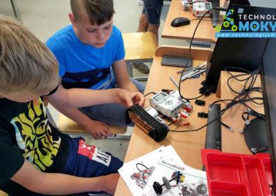 Vasaros robotikos stovykla Palangoje